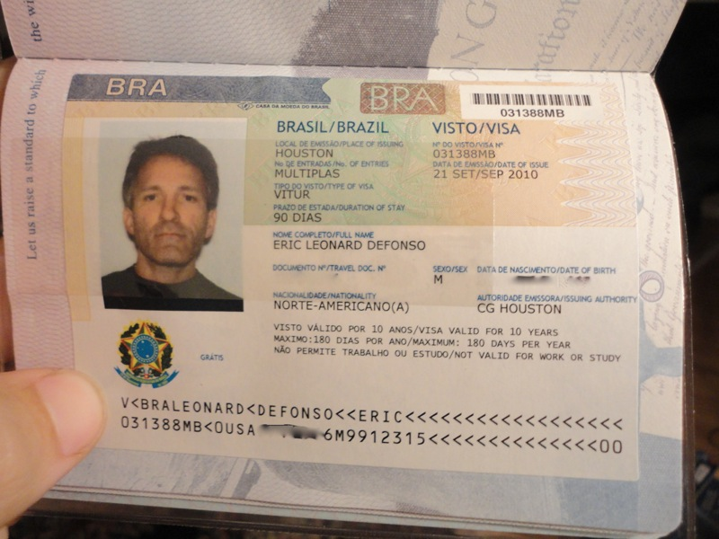 How To Get A Travel Visa To Brazil