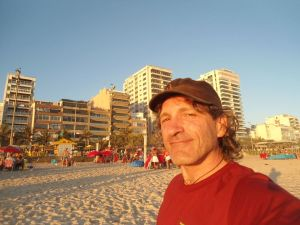 Ipanema during my last evening in South America.